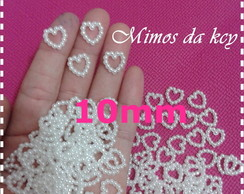 Mini P�rolas Cora��o 10mm