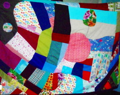 Tapete Grande Fofo Patchwork-Encomende