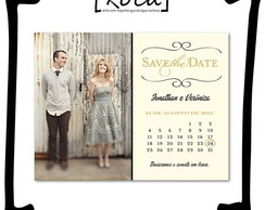 Save the date 10x15 imantado