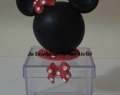 Lembran�a Mickey e Minnie Biscuit