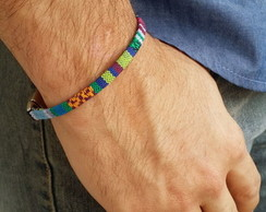 PULSEIRA BOHO COLORS FINE BLUE