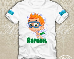 Camisa Bubble Guppies Personalizada