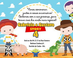 Convite Toy Story (Mod2)