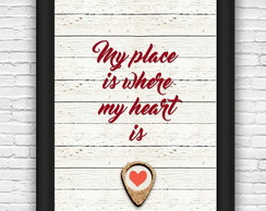 Quadro#27 - My place is where...