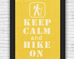Quadro#36 - Keep Calm and Hoke On