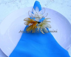 Porta guardanapo flor de maracuja