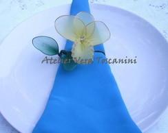 Flor de meia de seda