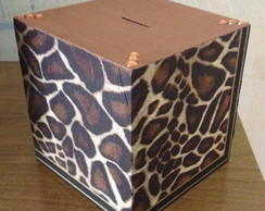 Cofre Animal print