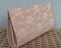 Clutch Nude Renda