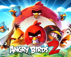 Painel Angry Birds 1,00x0,70m