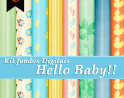Kit Digital - Hello Baby!!