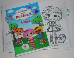 Kit de Colorir 15x21 Lalaloopsy