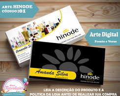Arte Digital - Cart�o de Visita cod 01