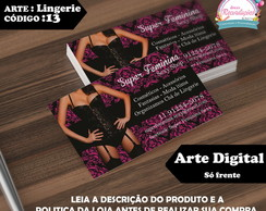 Arte Digital - Cart�o de Visita cod 13