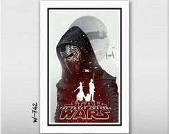 Quadro 45x30cm Star Wars Despertar For�a