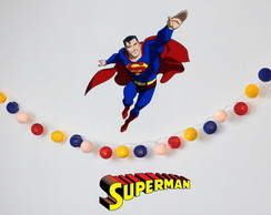 Lumin�ria SUPER HOMEM Superman festa kit