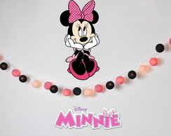 Lumin�ria MINNIE ROSA decora��o festa