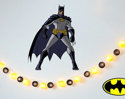 Lumin�ria BATMAN Kit fio decora��o festa