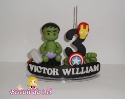 Mini topinho vingadores