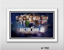 Quadro 60x40cm Tardis Series Doctor. Who