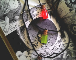 Colar Triplo Mini Zelda Potions