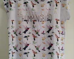 T-shirt Free Hummingbird