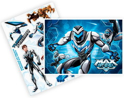 Kit decorativo - New Max Steel