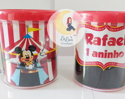 Caneca de Acr�lico Circo do Mickey
