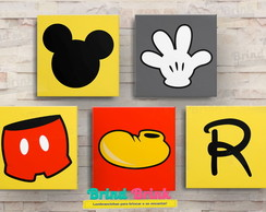 Quadros Decorativos Mickey