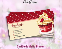 Arte digital - Cart�o de visita