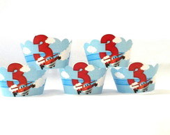 Wrapers Mini Cup Cake Super Wings