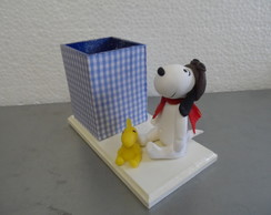 porta l�pis do snoopy