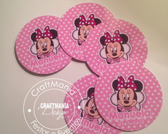 Rotulo Poa Minnie Pink