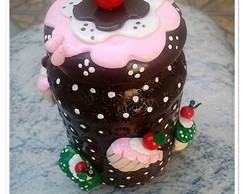 pote biscuit cupcake
