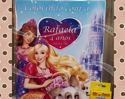 Kit De Colorir Barbie