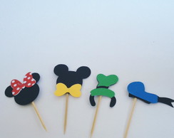 Kit Toppers - Turma Mickey