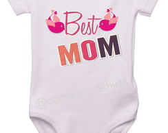 Body/Camisetinha Best Mom