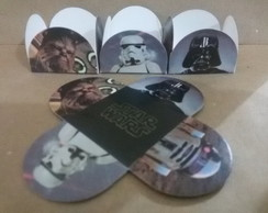 50 Forminhas P/ Doces STAR WARS 17,99