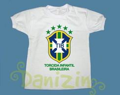 T-Shirt Beb� e Infantil TIB