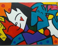 Tela Best-Friends Romero de Britto