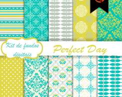 Kit de fundos Digitais - Perfect Day