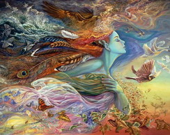 Poster - Josephine Wall Spirit of Flight