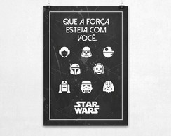 Poster For�a Star Wars