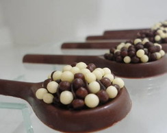 Pirulitos de chocolate
