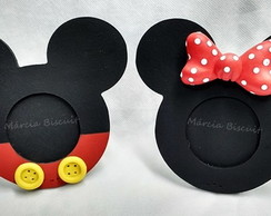 Porta -retrato Minnie ou mickey