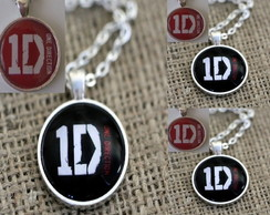 Colar Com Pingente 1D One Direction