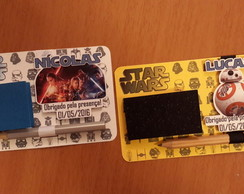 Kit Bloquinho e L�pis STAR WARS