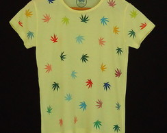 Camisa Cannabis Color