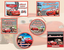 Kit arte Digital - Carros
