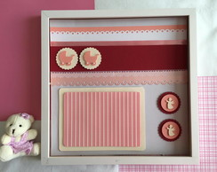 Quadro Scrapbook - Baby Girl